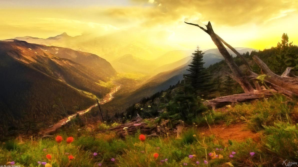 rising sun by dfordesmond