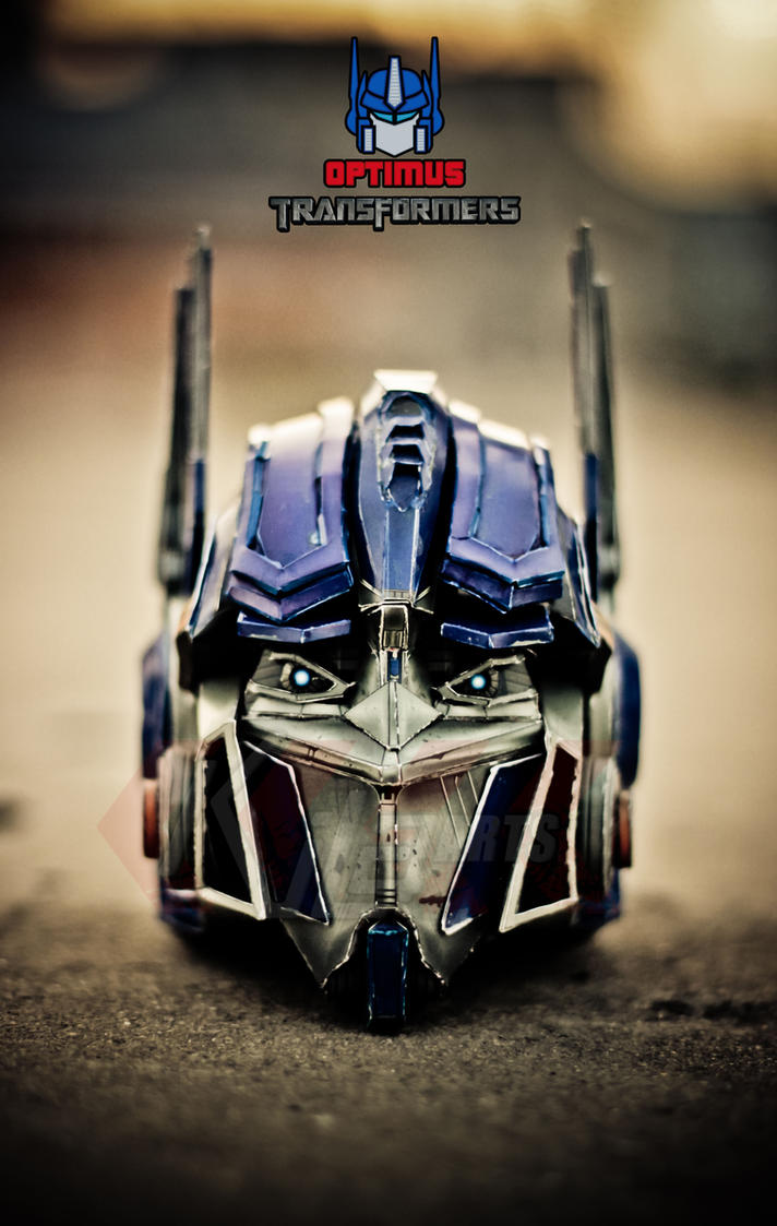 Optimus Prime Head - Transformers by dfordesmond on deviantART  Optimus Prime H...