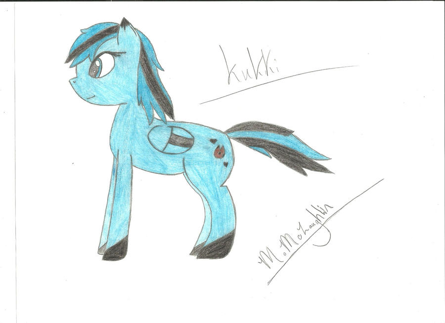 :MLP:FiM: My OC kukki colored by Shinyzorua-kukki