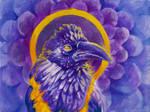 Nimmermehr (Watercolor practice)