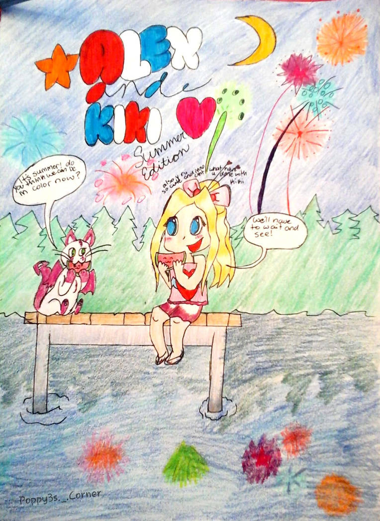Alex and Kiki Summer Cover by PoppyseedMuffiin