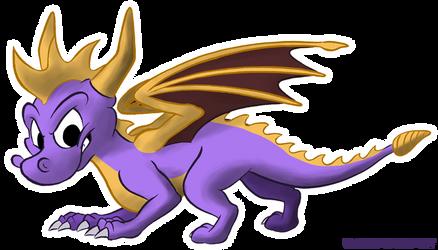 Spyro by karpour