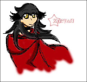 v.5: crimson shawl by Xueyan