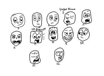 Faces 2 by JimAboo