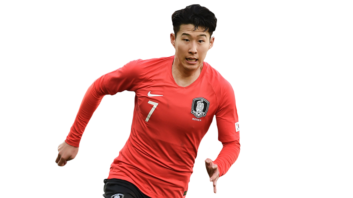 Heung Min Son Render (South Korea) By Tychorenders On