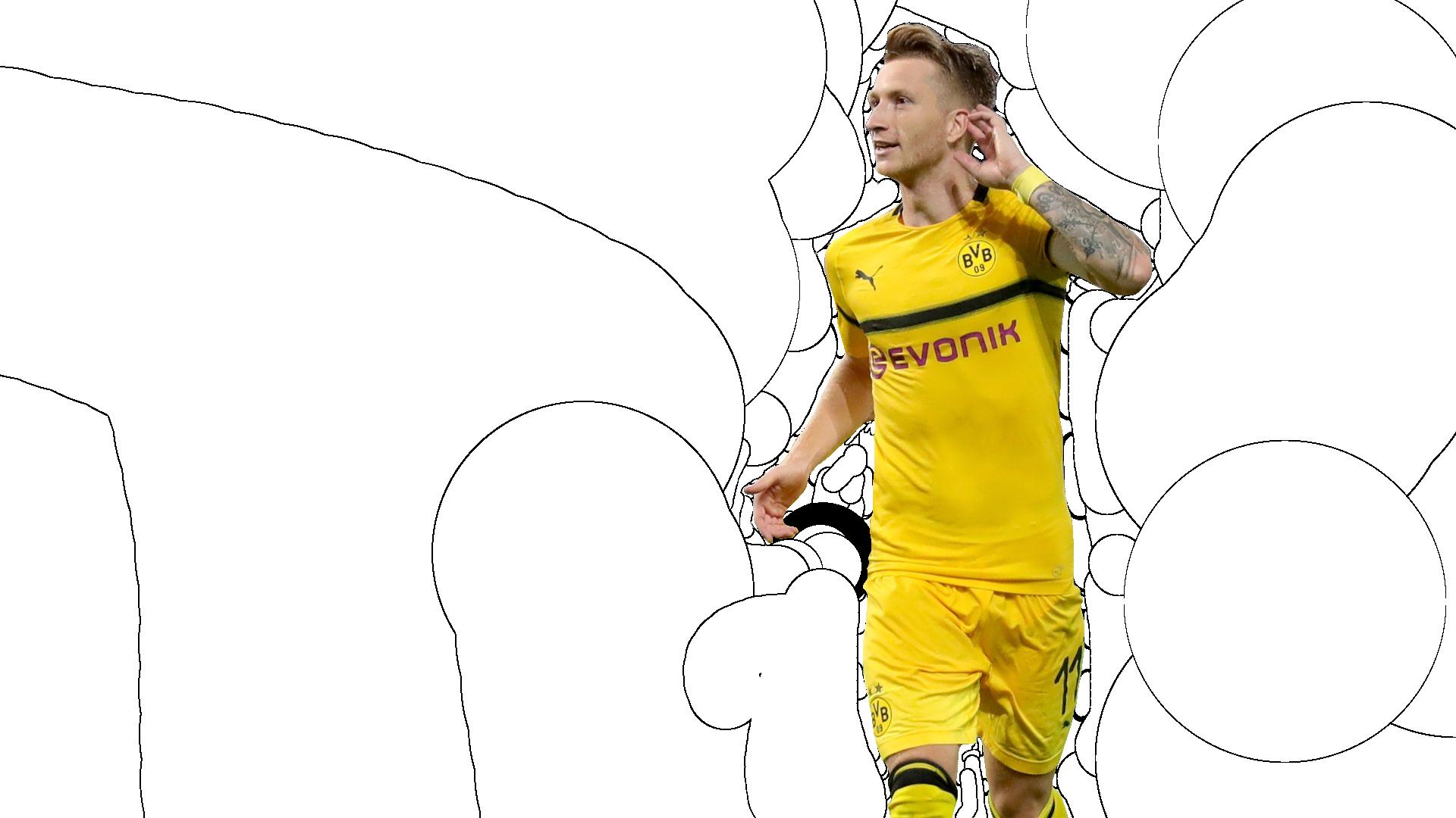 Reus Render Borussia Dortmund By Tychorenders On Deviantart