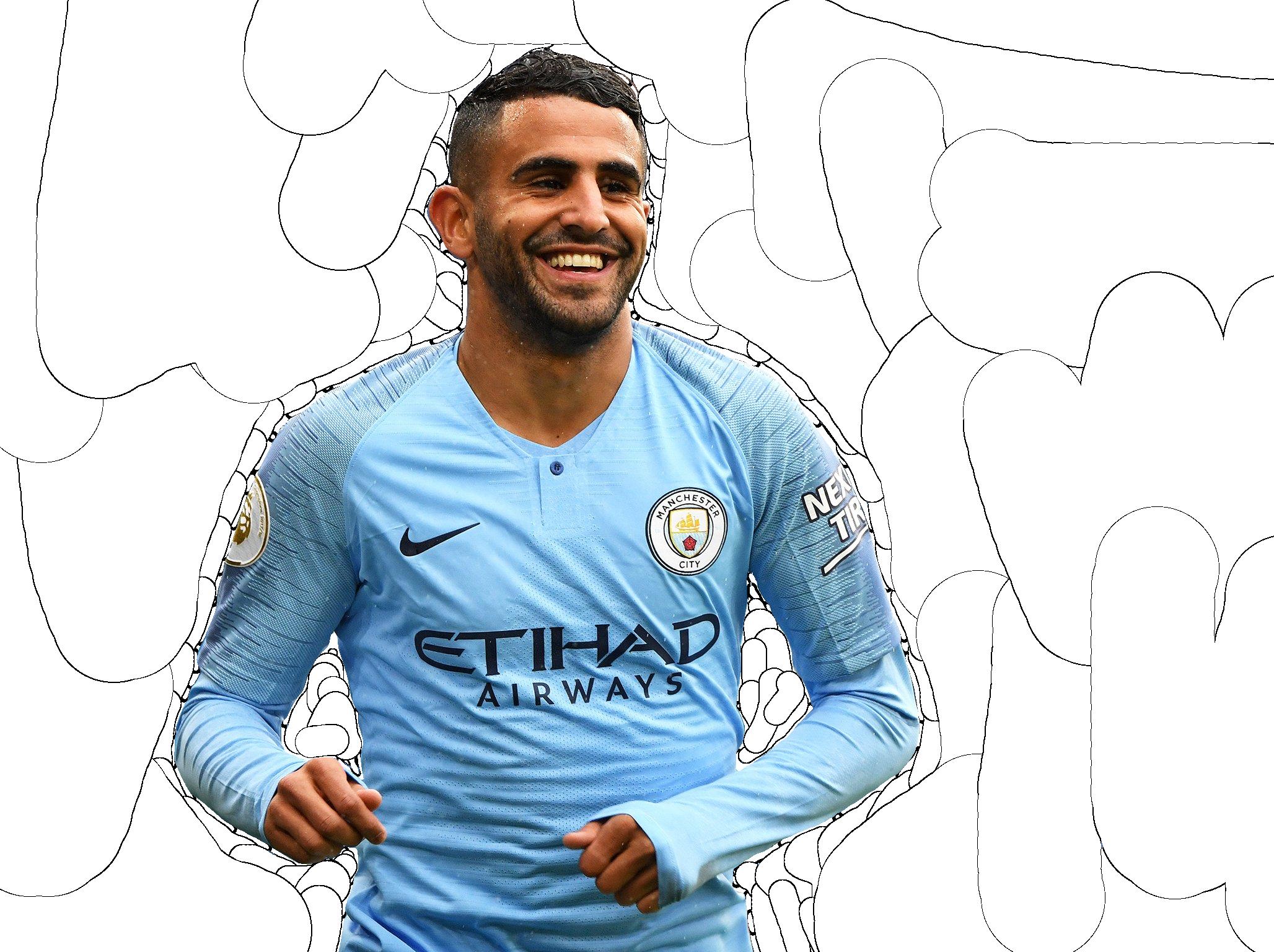 Mahrez Render (Manchester City) by tychorenders on DeviantArt