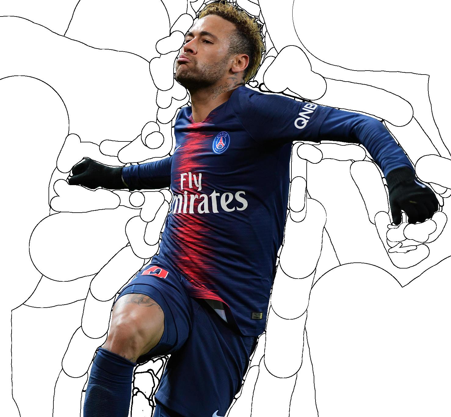 Neymar Jr Render (Paris Saint-Germain) by tychorenders on ...
