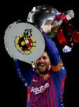 Messi Render (FC Barcelona)
