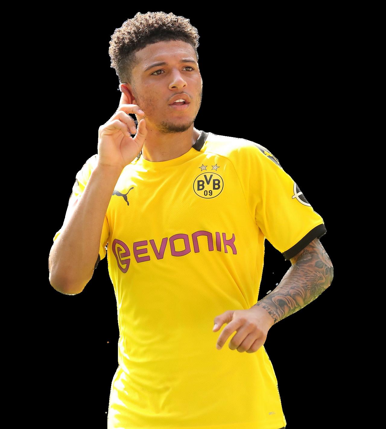 Sancho Render Borussia Dortmund By Tychorenders On Deviantart