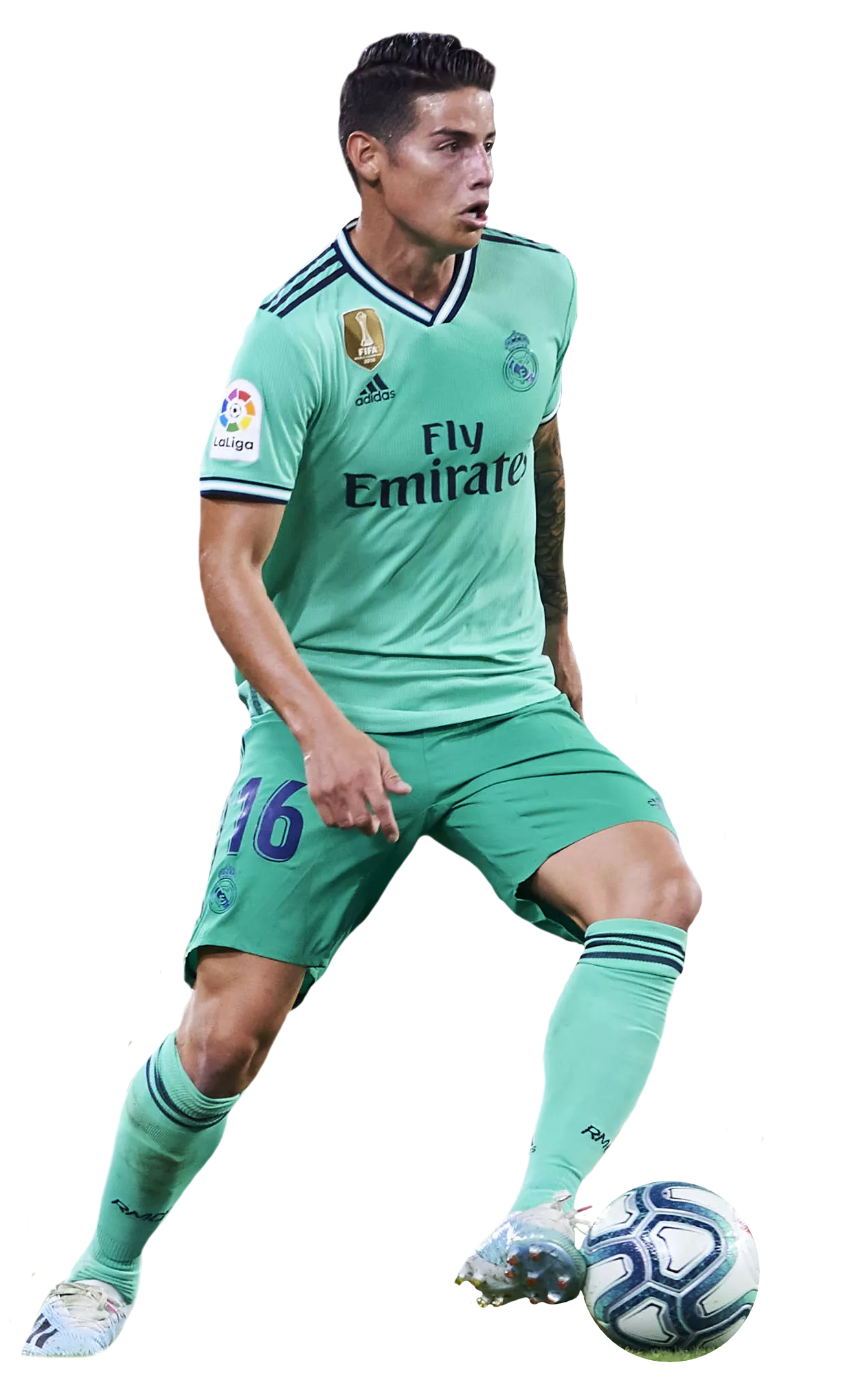 James Rodriguez Render Real Madrid By Tychorenders On Deviantart