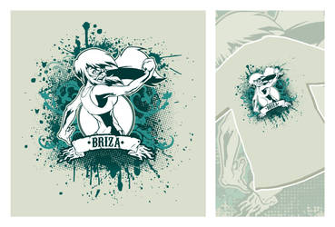 Briza T-Shirt by DarkNova666