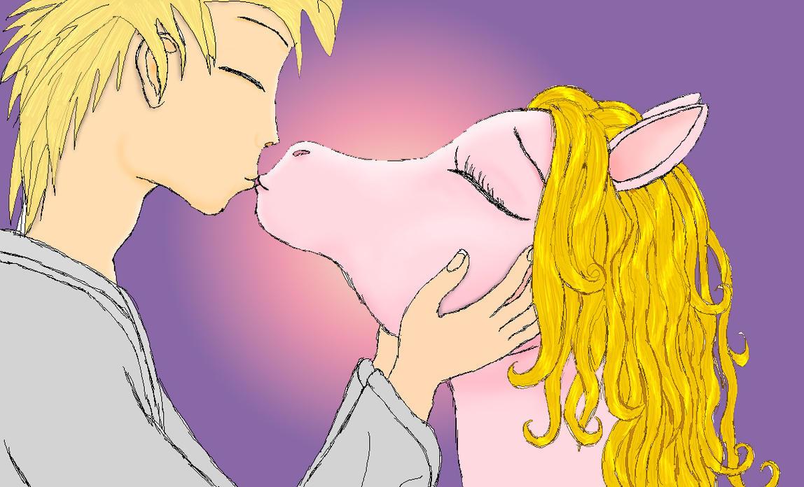 Kiss pony by Vasillium