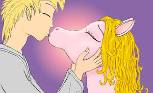 Kiss pony