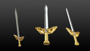 The Sword of the holy Titans 3D