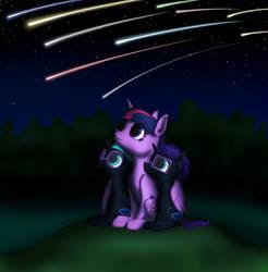 Nyx scene 23 Shooting stars by Vasillium