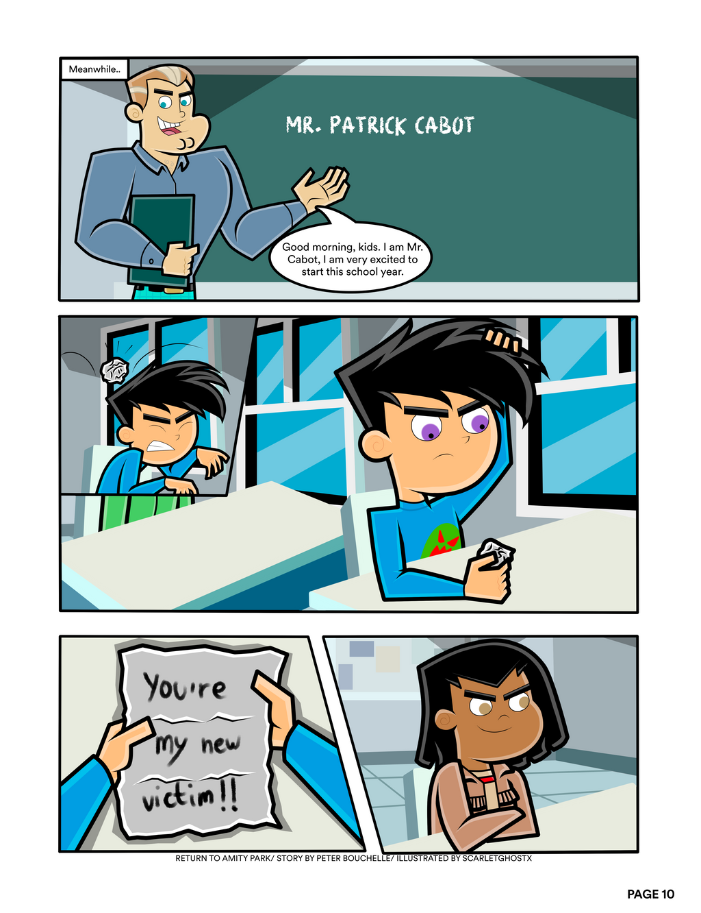 Return To Amity Park Page 10 By Scarletghostx On Deviantart Every week we choose one of our fans as fan of the week. return to amity park page 10 by