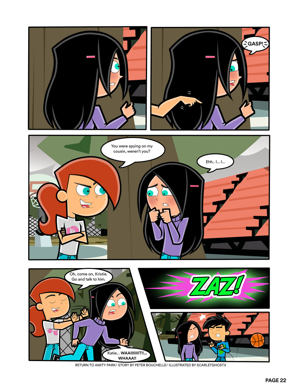 Return To Amity Park Page 22 By Scarletghostx On Deviantart 405 mb publication type cracked by 3dm release date : return to amity park page 22 by