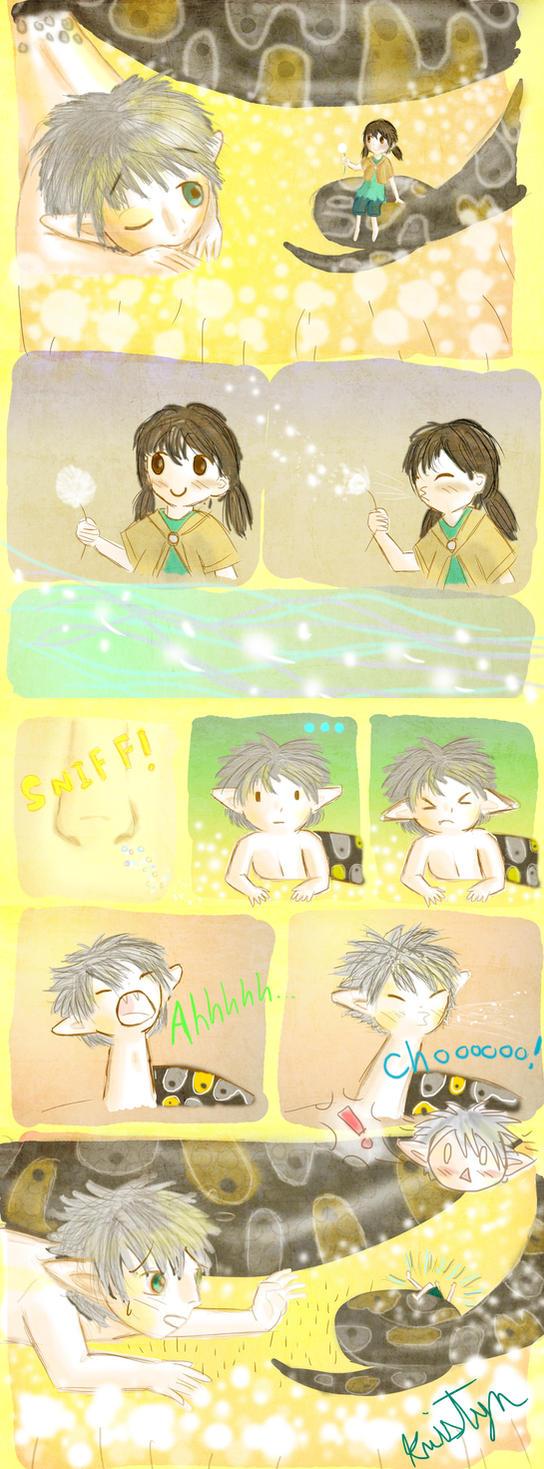 Dandelion Fluff by Friendlyfoxpal