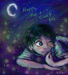 Hugs Among The Fireflies
