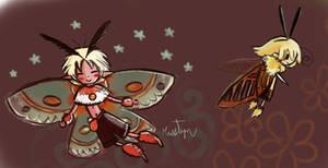 Moth Fairies