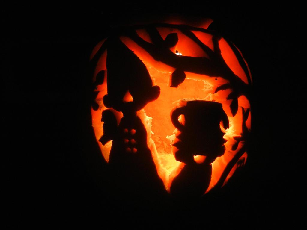 Over The Garden Wall Pumpkin By Friendlyfoxpal On Deviantart