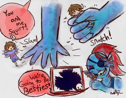 Besties! by Friendlyfoxpal
