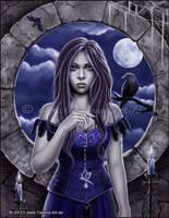 The curse of raven by TatjanaArt