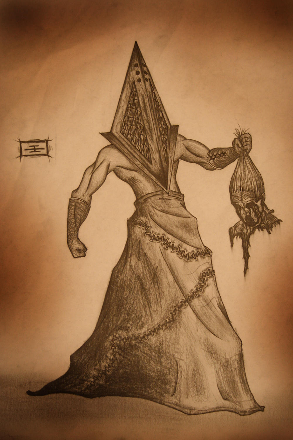 Pyramid Head Movie Version by TheDarkWhisperer