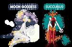 Demons N Goddesses AUCTION CLOSED
