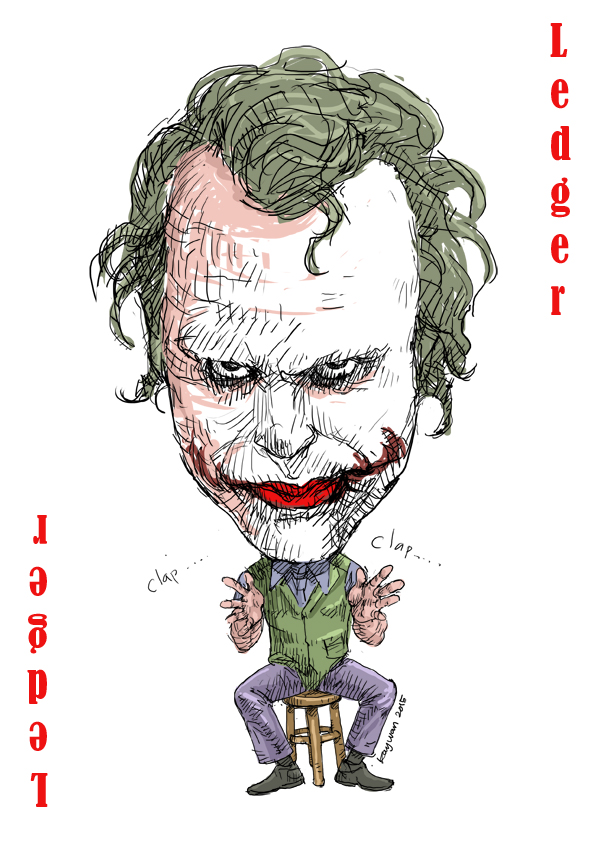 heath ledger by Kay-Wan