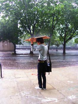 Raining Day in London