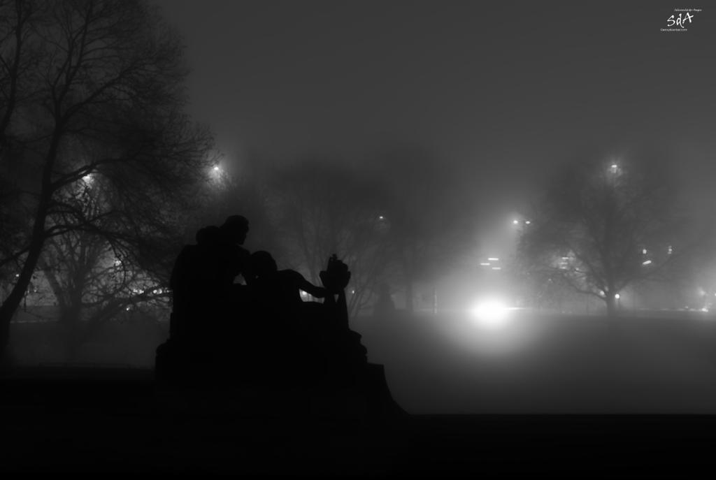 hamburg in the mist by ScipiHamburg