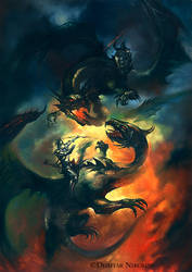 Dragons Fight