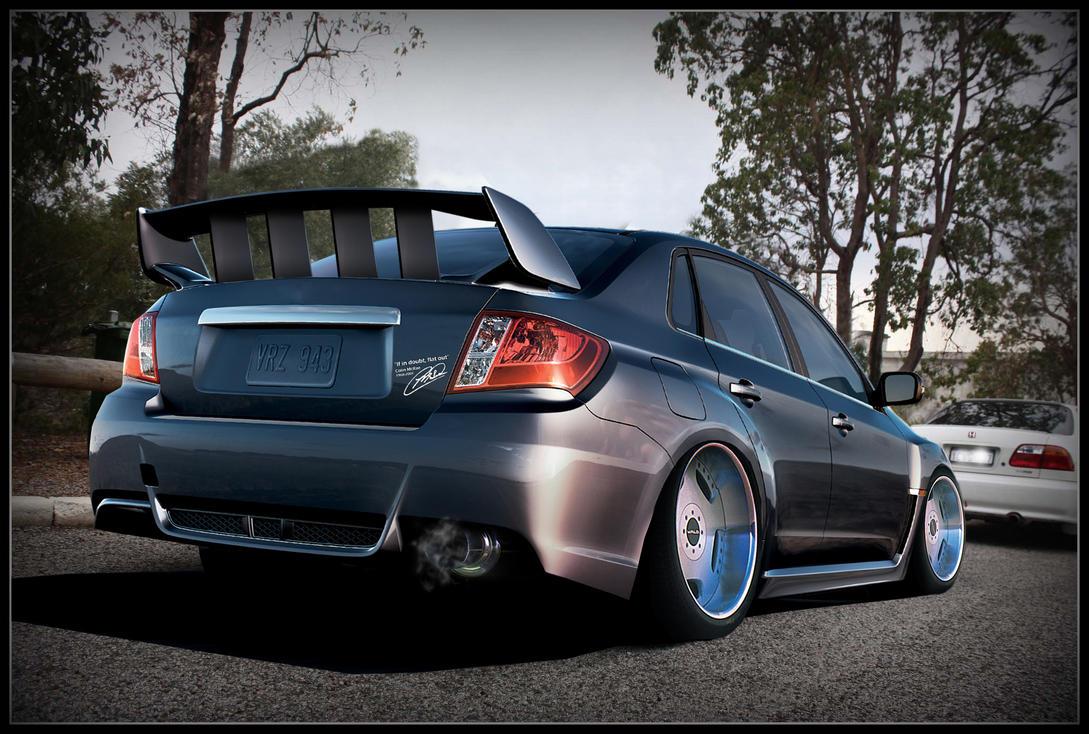 Subaru STI by KTBTuning