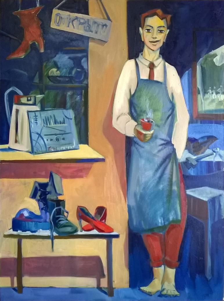 Shoemaker Fedor by VartanAkopyan