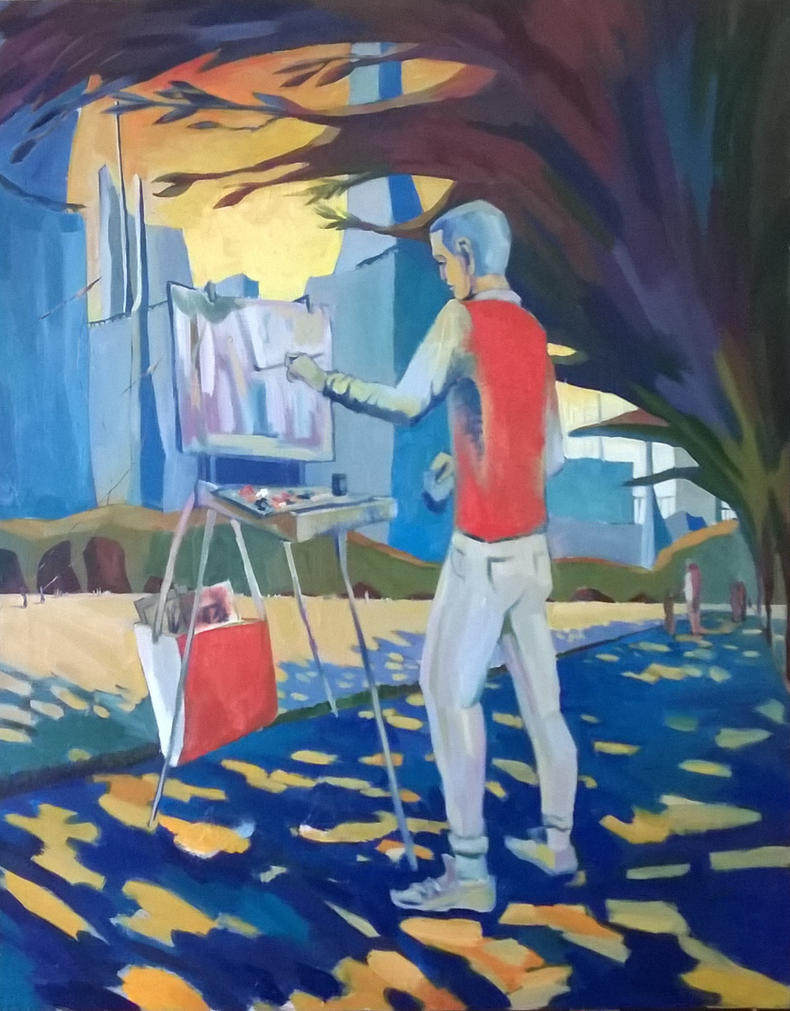 Meet the artist - fortunately... by VartanAkopyan