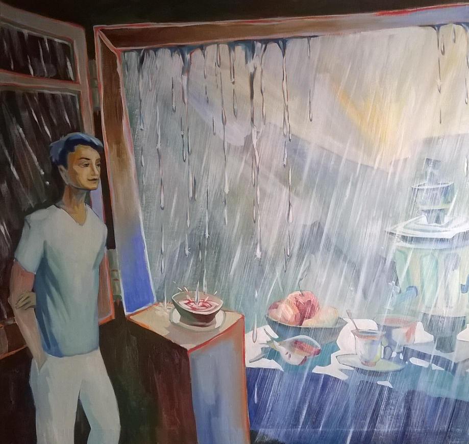Summer rain. by VartanAkopyan