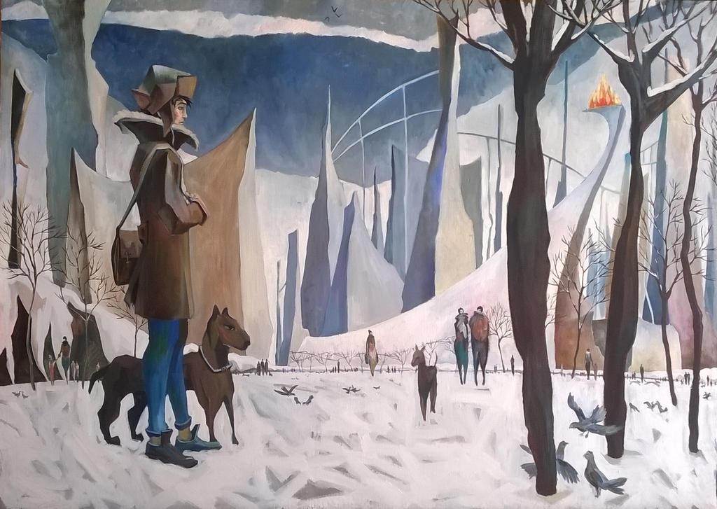 Winter. by VartanAkopyan