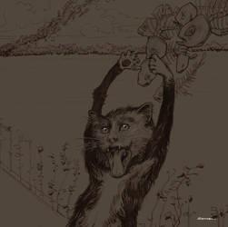 MunchCat Sketch