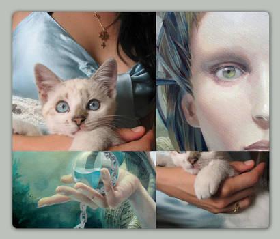 Kitten and Queen