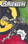USAvengers Sketch Cover, Black Panther