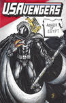 USAvengers Sketch Cover, Moon Knight