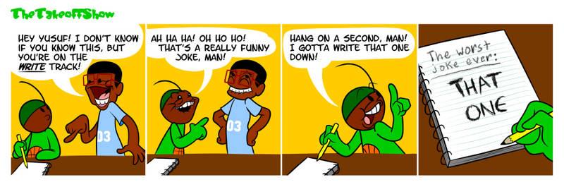 The Takeoff Show Comic # 143