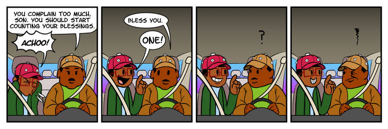 The Takeoff Show Comic # 146 - Blessings
