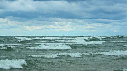 Lake Michigan 1920x1080 by euphoricallydead