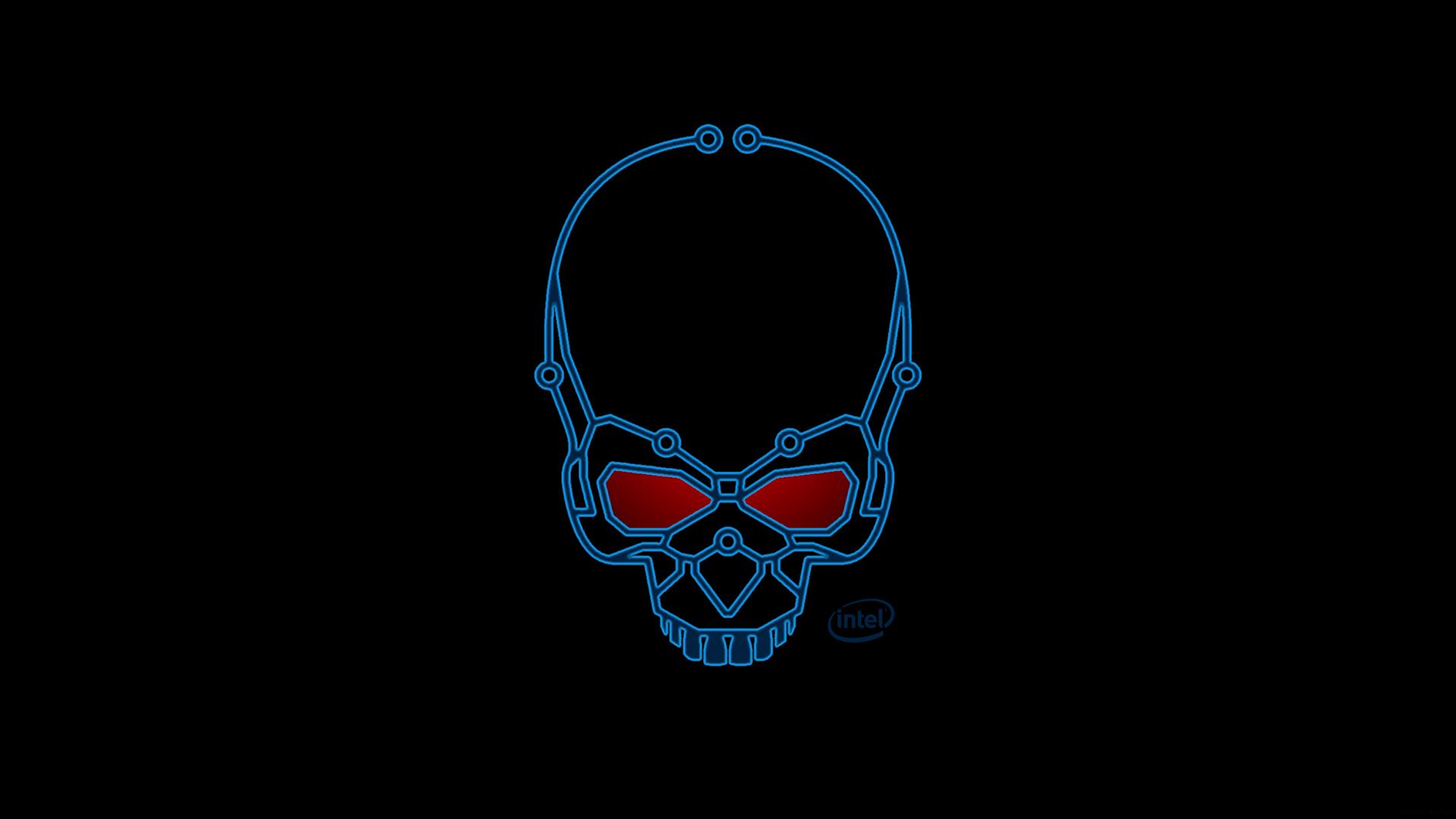 Intel Skull Wallpaper 1080 by euphoricallydead on DeviantArt