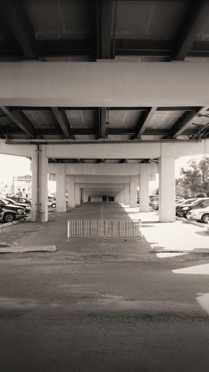 Under the Mackinaw Bridge by euphoricallydead