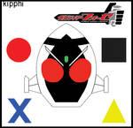 Kamen Rider Fourze vector head