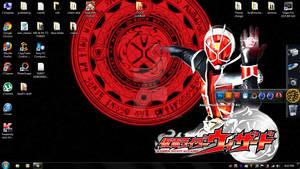 Kamen Rider Wizard - My 2013 lap top wallpaper -